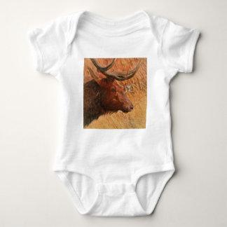 Bull Elk Baby Bodysuit