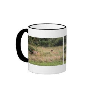 Bull Elk & Blackberries Coffee Mug