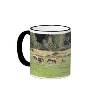 Bull Elk & Harem Mug