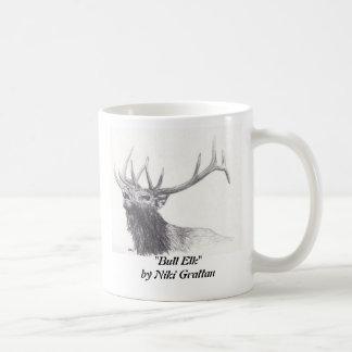 Bull Elk Coffee Mugs