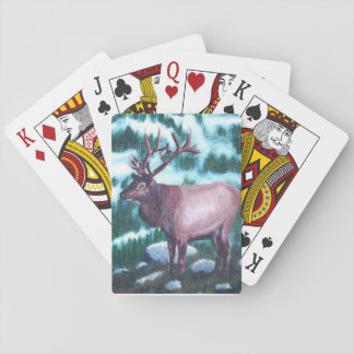 Bull Elk Playing Cards