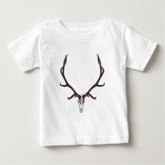Bull elk skull color baby T-Shirt