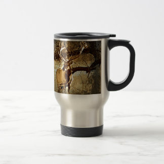 Bull Elk Travel Mug