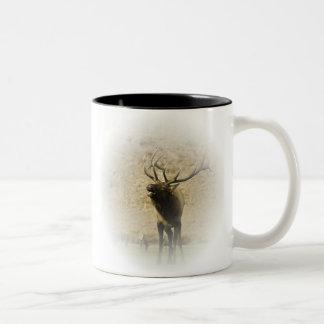 Bull Elk Two-Tone Mug