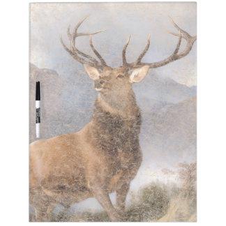 Bull Elk Wildlife Animal Dry Erase Board