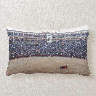 Bull Fight Arena Lumbar Pillow
