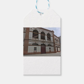 Bull fighting ring gift tags
