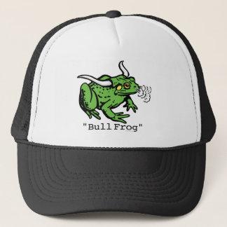 Bull Frog Bullfrog by Mudge Studios Trucker Hat