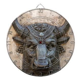 BULL HEAD DESIGN DARTBOARD