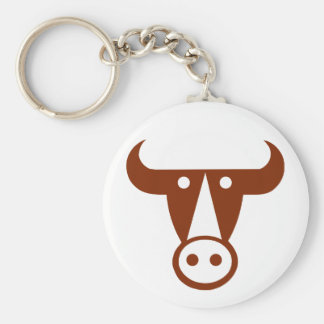 Bull Key Ring