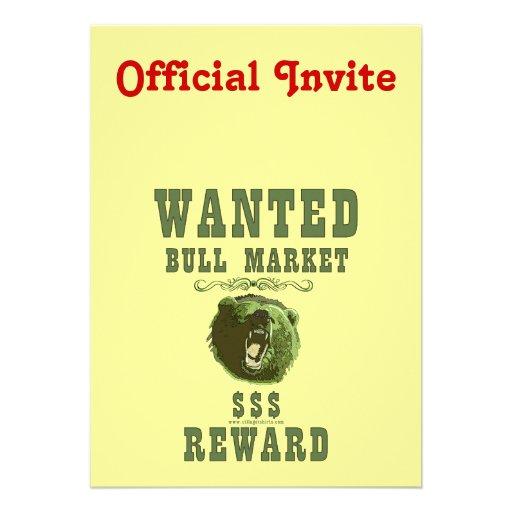 Bull Market Reward Custom Announcements