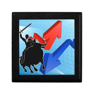 Bull Market Winner Concept Gift Box