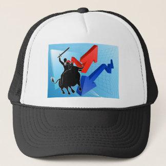 Bull Market Winner Concept Trucker Hat