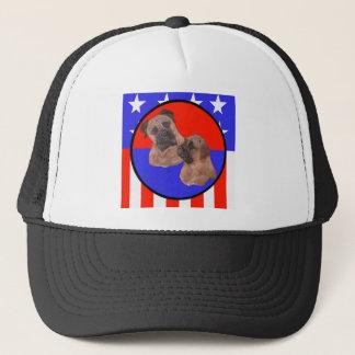 Bull Mastiff Duo Trucker Hat