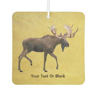 Bull Moose Car Air Freshener
