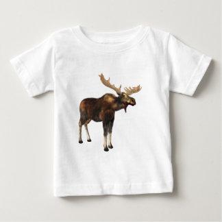 Bull Moose Looking Left Baby T-Shirt