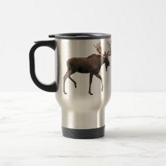 Bull Moose Travel Mug
