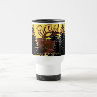 """Bull 'O The Woods"" Travel Mug"