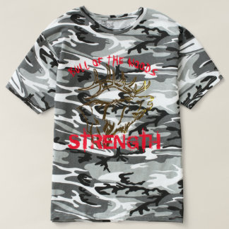 BULL OF THE WOODS STRENGTH CAMO SHIRT