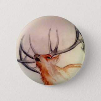 BULL OF THE WOODS STRENGTH ELK 6 CM ROUND BADGE