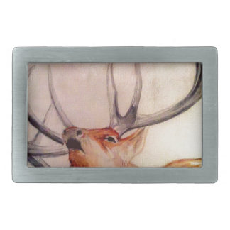 BULL OF THE WOODS STRENGTH ELK BELT BUCKLE