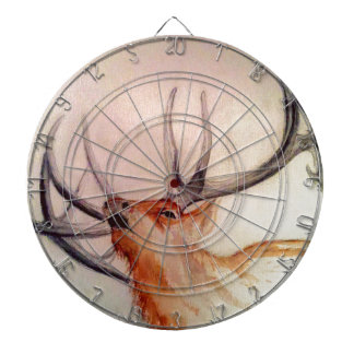 BULL OF THE WOODS STRENGTH ELK DARTBOARD