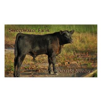 Bull or Cattle Farm Standard Business Card