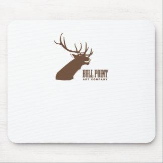 Bull Point Art Co Mousepad