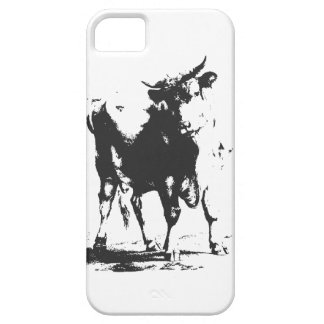 Bull Pop Art Barely There iPhone 5 Case