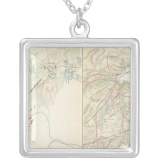 Bull Run, Manassas Silver Plated Necklace