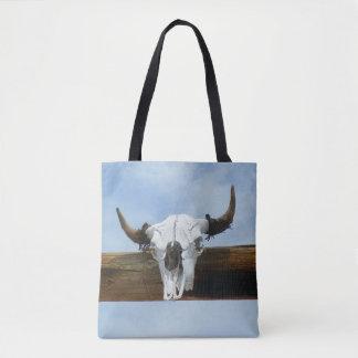Bull Skull Edition Tote Bag