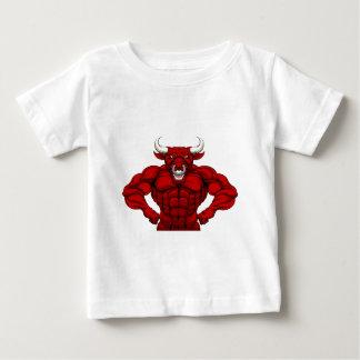 Bull Sports Mascot Baby T-Shirt