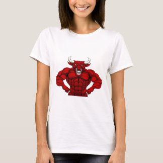 Bull Sports Mascot T-Shirt