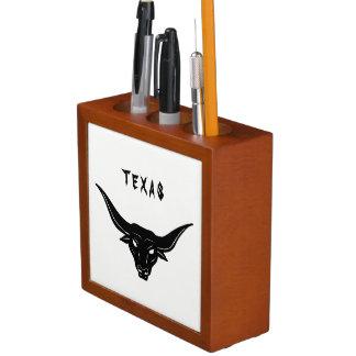 BULL—Strength of Texas ☼ Desk Organiser