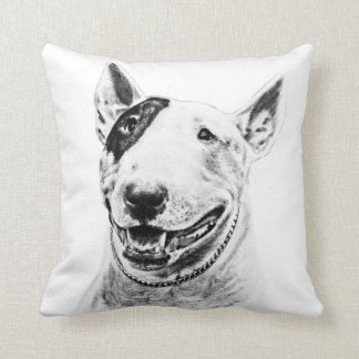 BULL TERRIER American MoJo Pillow