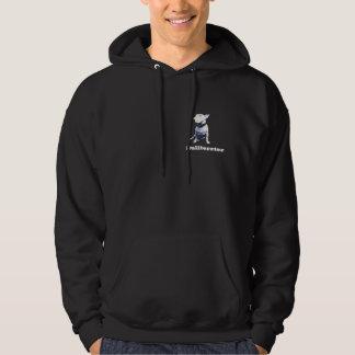 Bull terrier-blue hoodie