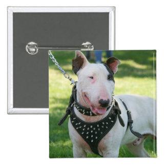 Bull Terrier Button