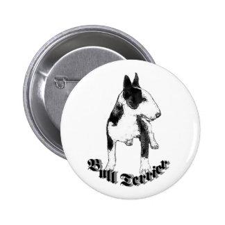 Bull Terrier Buttons