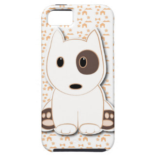 Bull terrier cute puppy iPhone 5 cover