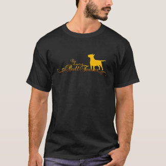 BULL TERRIER golden T-Shirt