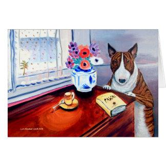 Bull Terrier Greeting Cards