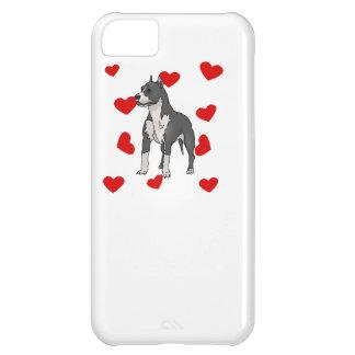 Bull Terrier Love iPhone 5C Covers