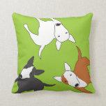 Bull Terrier Memory Pillow