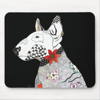 Bull Terrier Mousepad (You can Customize)
