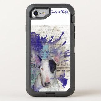Bull Terrier News Splash OtterBox Defender iPhone 7 Case