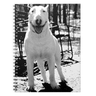 Bull terrier notebook