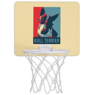 Bull Terrier Political Parody Mini Basketball Hoop
