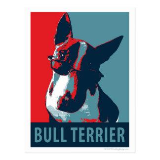 Bull Terrier Political Parody Post Cards