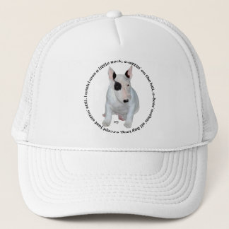 Bull Terrier Puppy Ditties Trucker Hat
