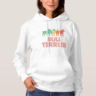 Bull Terrier Retro Pop Art Hoodie